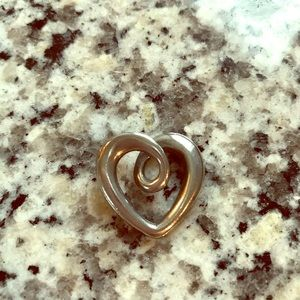 James Avery Heart Strings Free Form Charm